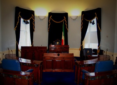 The Seanad chamber will be empty for most of this week
