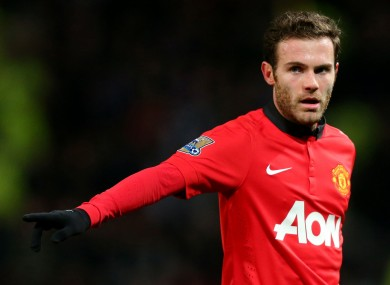 Mata insists he is happy with his role at United.