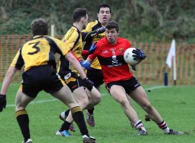UCC's Tom Clancy and NUI Maynooth's Michael Dara Macauley.