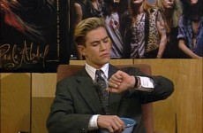 All the essential life lessons brought to you by Zack Morris