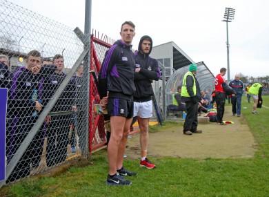 Cork's Aidan Walsh and Eoin Cadogan.