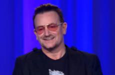 Bono: 'The Irish people bailed the Irish people out'