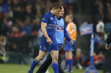 Leinster coach O'Connor confident about O'Driscoll recovery after 'bang on the neck'