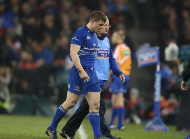 O'Driscoll came off in the second half of the win over Munster.