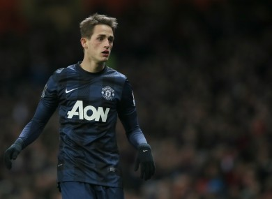 Manchester United's Adnan Januzaj has impressed this season.