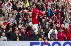 All the goals as United comfortably beat Villa at Old Trafford