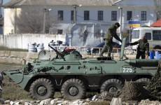 Outnumbered: Ukrainian troops withdraw from Crimea