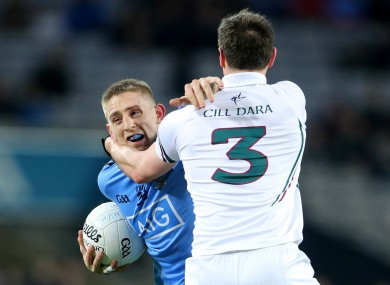 Dublin's Eoghan O'Gara in action against Kildare.