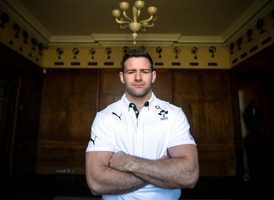 Fergus McFadden: ready for a date with destiny.
