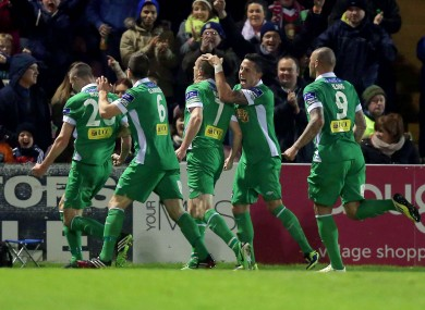 Cork City secured a hard-earned victory this evening (file pic).