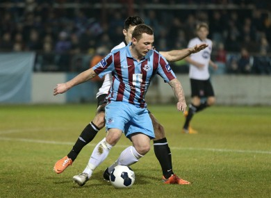 Gary O'Neill is back in action with Drogheda United.