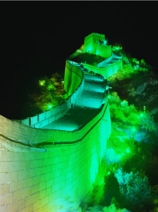 Here's what great wall of China will look like next week!