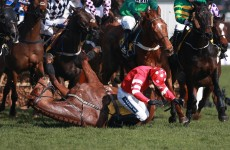 Compound fracture puts Ruby Walsh out of the Gold Cup