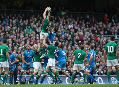 Ireland's line-out has been impressive under the watch of Plumtree.