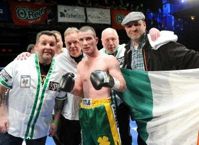 Ireland's John Joe Nevin enjoyed a successful debut as a pro last night.