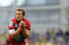 Wilkinson ruled out of Toulon's clash with Toulouse but should return for Leinster