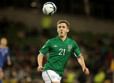 Kevin Doyle is out of the Serbia friendly.