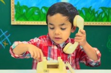 These kids don't know what to make of old-school telephones