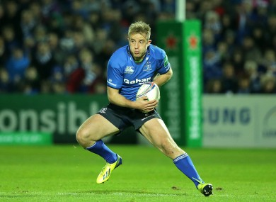 Luke Fitzgerald misses out on tonight's Pro12 action.
