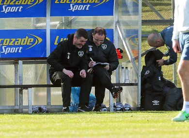 O'Neill and Keane: appointment was a shot in the arm for Ireland.