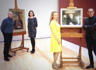 The judges of the Hennessy Portrait Prize