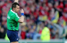 Nigel Owens will referee Munster's Heineken Cup quarter-final against Toulouse