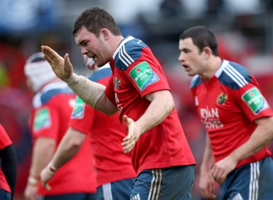 O'Mahony is targeting Munster's first win in Dublin since 2008.