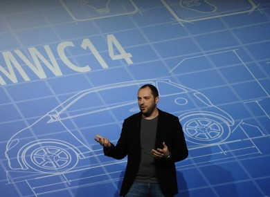 WhatsApp co-founder and CEO Jan Koum speaking at Mobile World Congress last month.