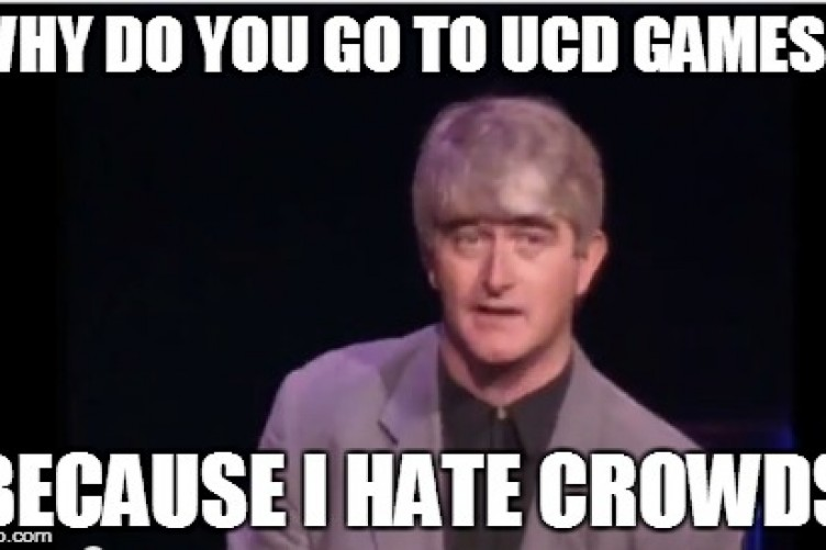 17 Signs Youre A Hardcore UCD AFC Fan The42