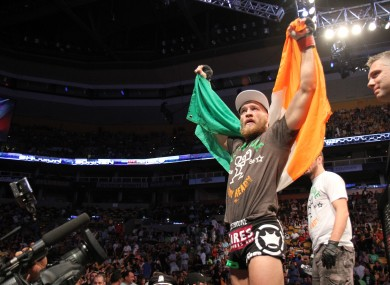 Conor McGregor is seen as a potential star in the UFC.