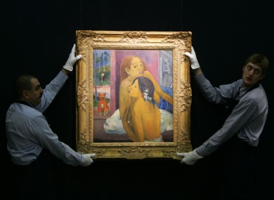 'Deux Femme' by Paul Gauguin sold at auction in 2006 for $19.2 million.