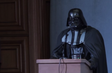 Ukrainian authorities won't let Darth Vader run for president