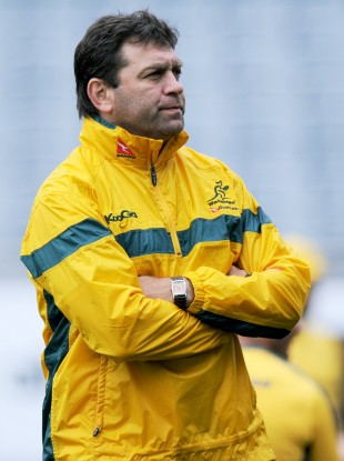 Nucifora during his time with the Wallabies.