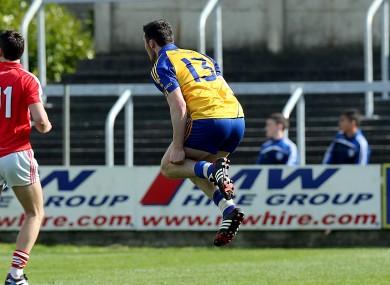 Diarmuid Murtagh celebrates the winning point.