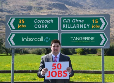 Intercall and Tangerine MD Niall Kelleher
