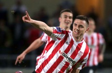 Curran helps Derry overcome early setback against former club Athlone