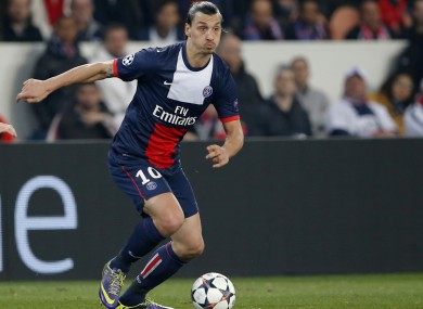 Ibrahimovic will be Chelsea's biggest threat tonight.