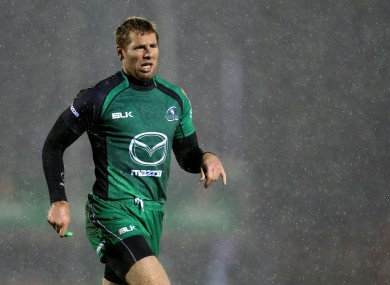 Gavin Duffy captained Connacht earlier this season.
