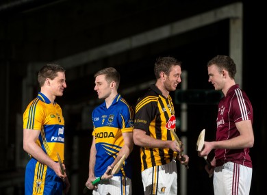 John Conlon, Shane McGrath, Michael Fennelly and Jonathan Glynn are all chasing a league title.