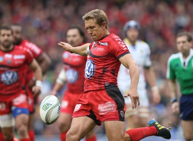 Wilkinson missed last weekend's victory over Toulouse.