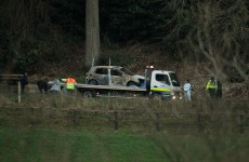 Man arrested over two bodies found in burnt-out car in 2012
