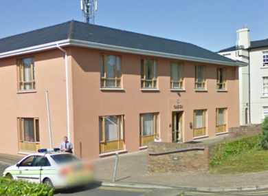 Bray Garda Station, where the two were detained.