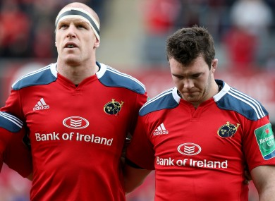 O'Connell and O'Mahony are both breakdown specialists.