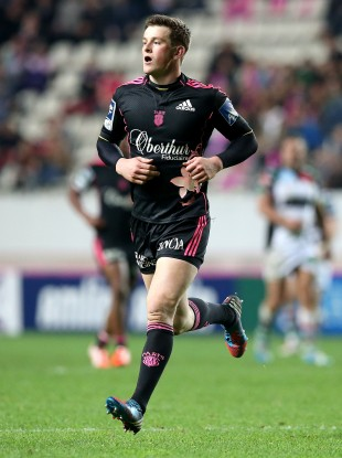 Lydon in action for his Top 14 club against Harlequins.