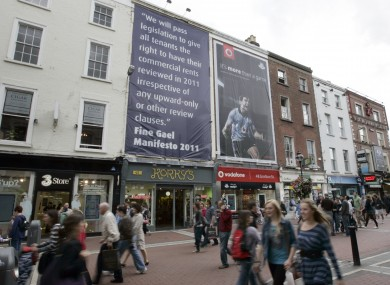A 2011 banner criticised the government for their reluctance to change the law.