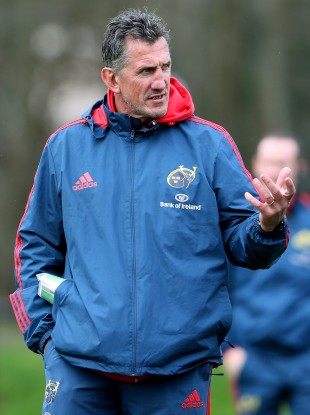 Munster head coach Rob Penney takes great pride in his team's scrum.