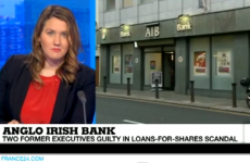 Er, that's not Anglo Irish Bank…
