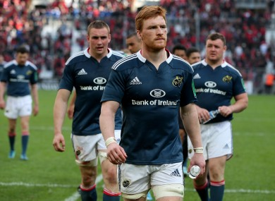 Munster suffered a disappointing Heineken Cup semi-final loss at the weekend.