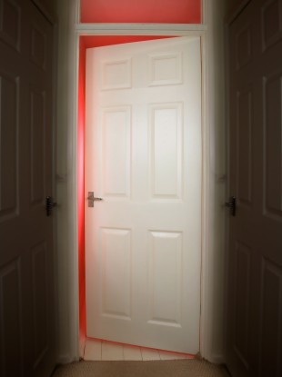 the burning question*: should the door be open or closed in
