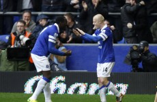 Everton down Arsenal to keep European dream alive